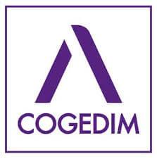 COGEDIM, partenaire d'Adhésif Publicité - Votre signalétique adhésive sur Nantes (44)